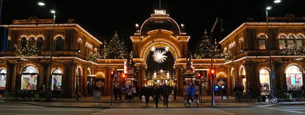 tivoli københavn julelys