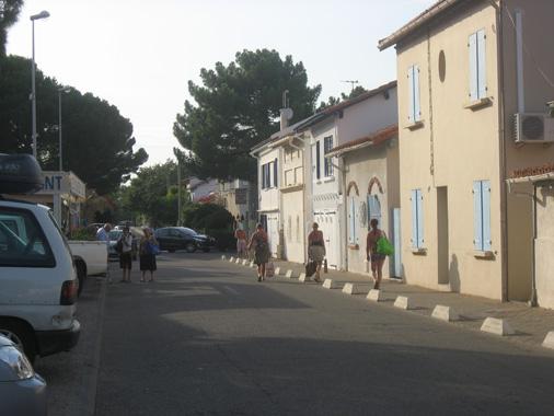 sydfrankrig byer tæt på stranden