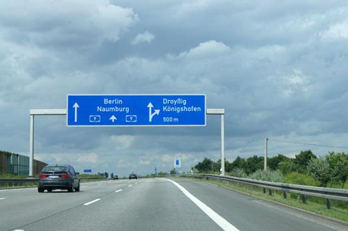 pussygalores trafik tyskland vejarbejde